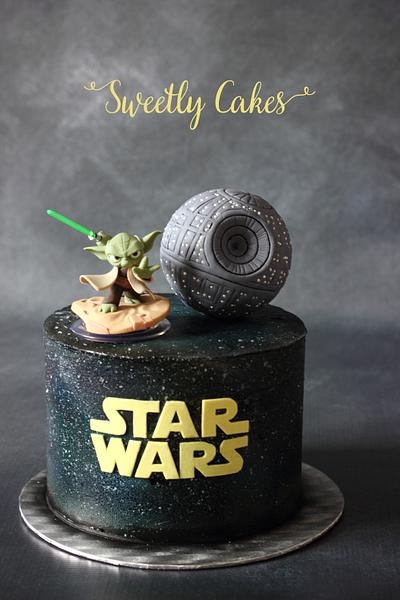 Star Wars Cake  - Cake by Sweetly Cakes