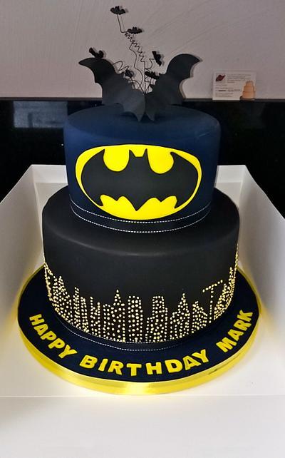 Batman! - Cake by Iria Jordan