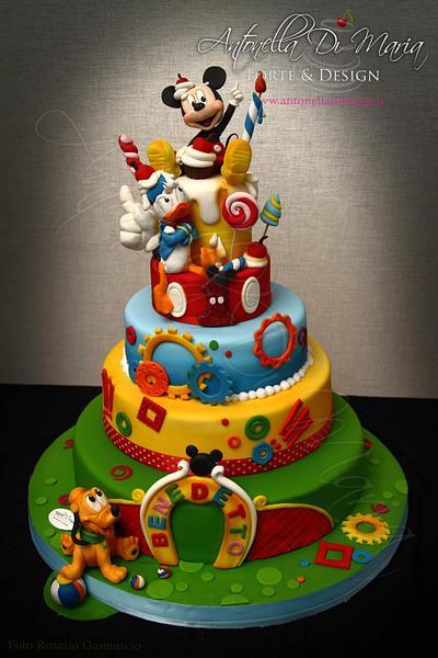 Mickey and friends - Cake by Antonella Di Maria