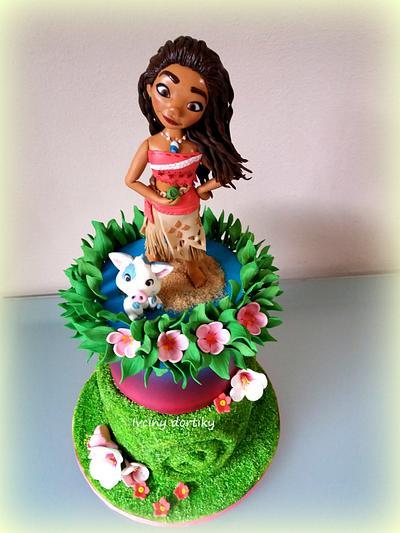 Odvážná Vajana - Cake by Ivciny dortiky