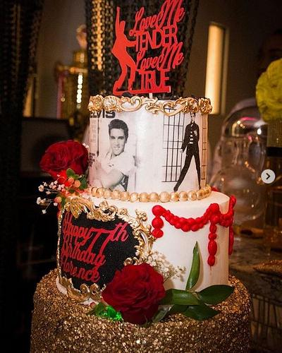 Love me Tender, Love me True - Cake by MsTreatz