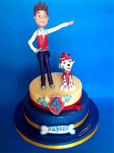 Paw patrol cake - Cake by Dolcemi