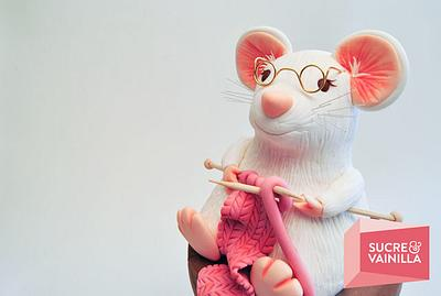 Sweet Workers Rats. Dulces Ratas Obreras - Cake by Viviana Zerneri