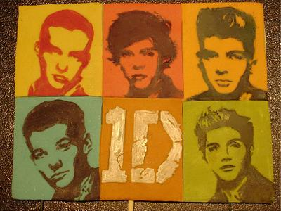 One Direction topper - Cake by Tatyana Cakes