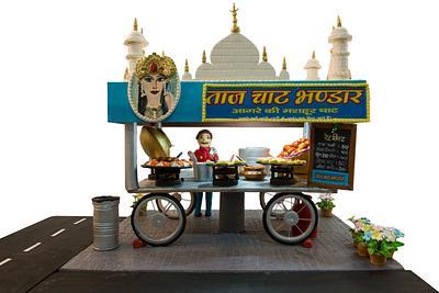 Taj street food cart cake  - Cake by Koms