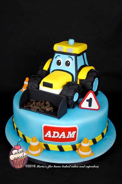 Digger cake - Cake by Maria's