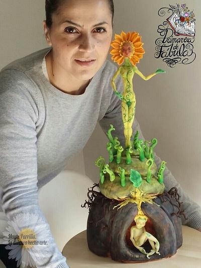 """""""La pequeña semilla"""" (colaboración española """"Primavera de fábula"""") - Cake by Mayte Parrilla"""