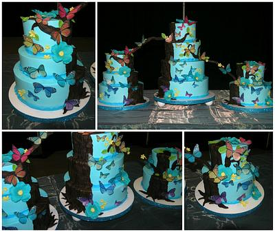 Enchanted Forest - Cake by Jeana Millan