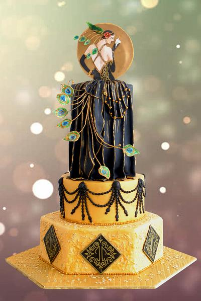 Gatsby Feminism - Cake by Archana