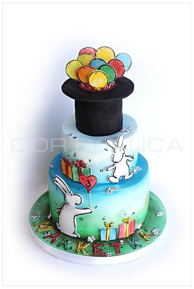 Bob & Bobek - Cake by Dorty LuCa