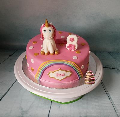 Little unicorn - Cake by Pluympjescake