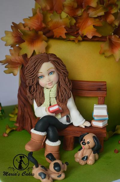 Autumn Cake - Cake by Marias-cakes