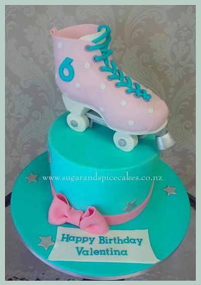 Roller Skate Cake - Cake by Mel_SugarandSpiceCakes