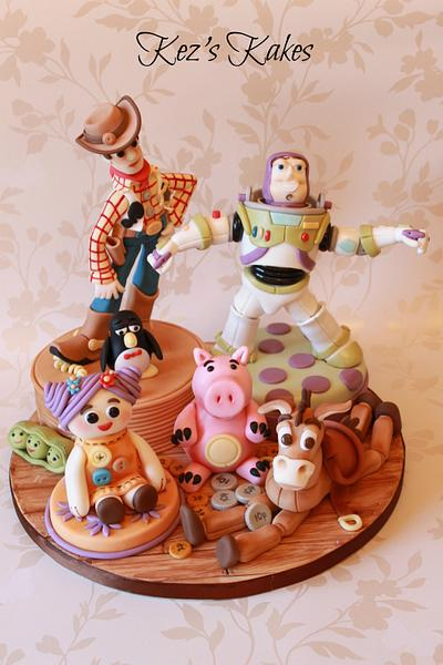 Toy Story Cake Toppers - Cake by Kerry Rowe
