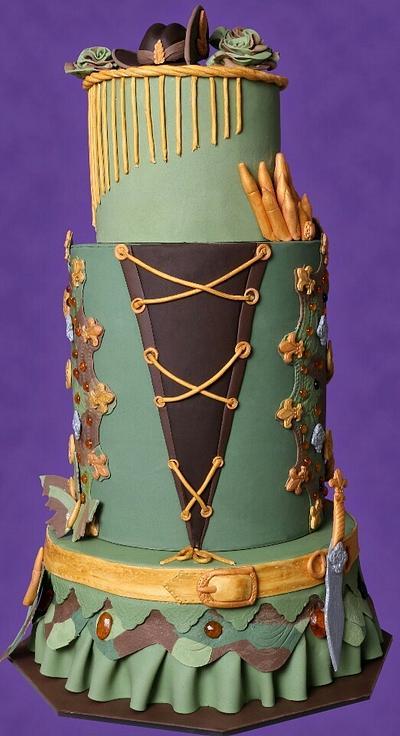 Glamour In Uniform  - Cake by Subhashini