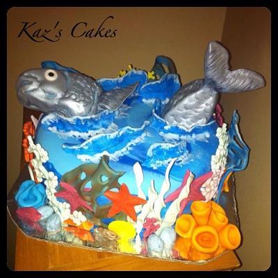Fishing Cake - Cake by Karen