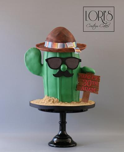 Senior Cactus - Ole'  - Cake by Lori Mahoney (Lori's Custom Cakes)