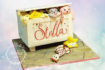 Stella's Christening cake - Cake by Estrele Cakes