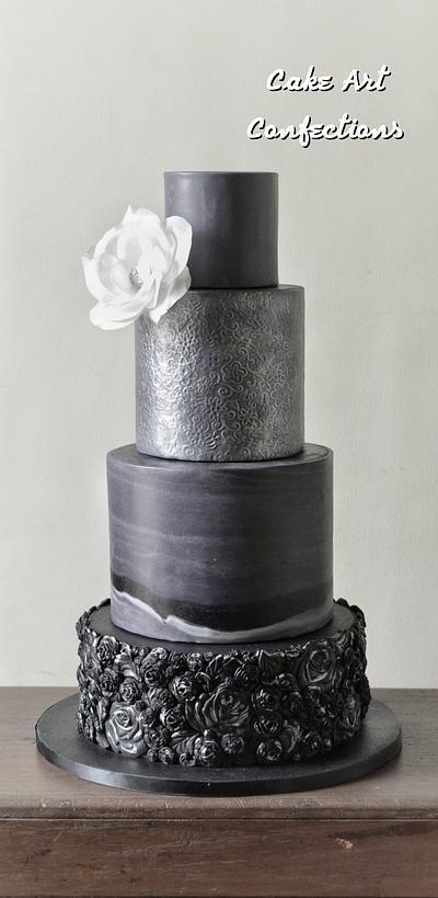 (Almost) 50 Cakes of Grey - Cake by Rachel Veneracion