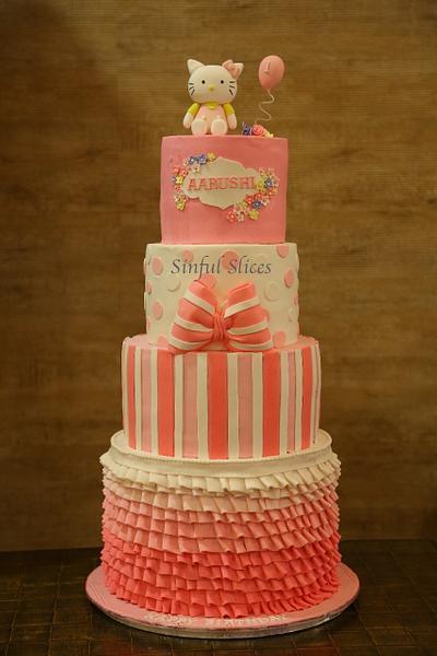 Hello Kitty Themed Cake - Cake by Nikita Nayak - Sinful Slices