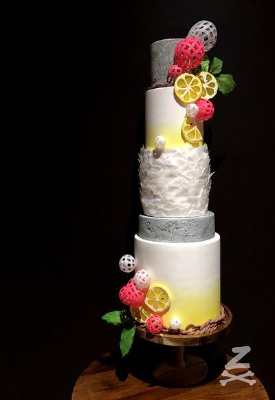 Pink Lemonade - Cake by Zoe Byres