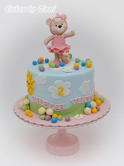 Sweet bear girl - Cake by Cakes by Toni
