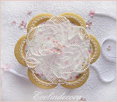 Royal icing garden 🌸 - Cake by Evelindecora