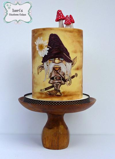 Sugar Myths Global Collab  - Cake by Lori Mahoney (Lori's Custom Cakes)