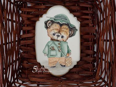 Adorable Teddy Bear - Cake by Bobbie