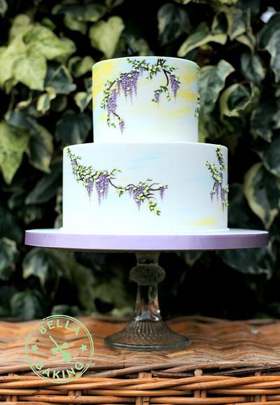 Wisteria Sky - Cake by Inga Ruby Cakes (formerly Bella Baking)