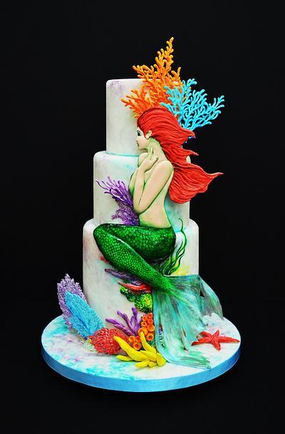 mermaid - Cake by Kelvin Chua