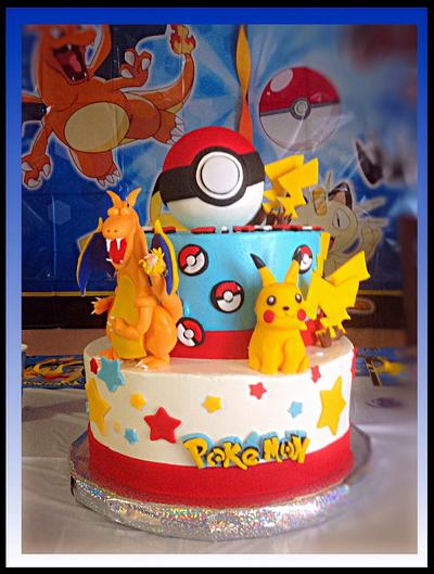 Pokemon cake - Cake by Alberto and Gigi's cakes