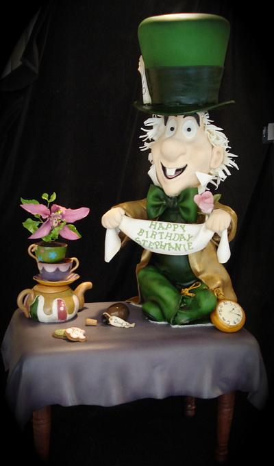 Mad Hatter Cake  - Cake by The Cake Diosa