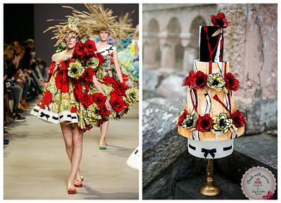 Viktor&Rolf fashion inspired cake - Cake by Maria *cakes made with passion*