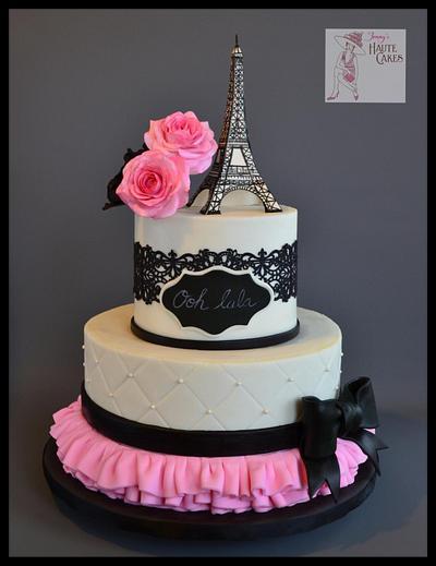 Ooh La La! - Cake by Jenny Kennedy Jenny's Haute Cakes
