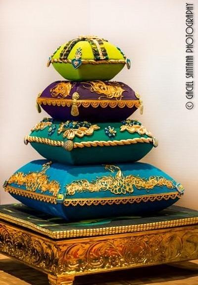 Pillow Wedding Cake - Cake by Amita Singh