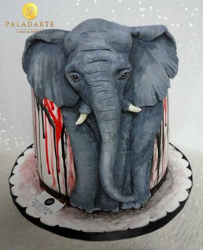 Elephant Cake - Cake by Paladarte El Salvador