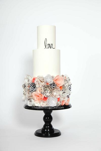 LOVE wafer paper - Cake by Stevi Auble
