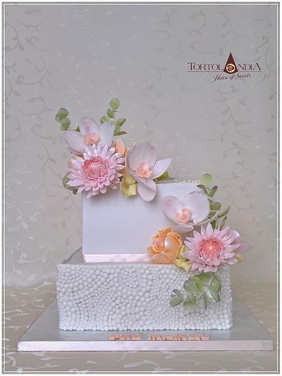 Flowers cake - Cake by Tortolandia