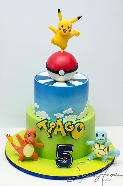 Pokemon Go Cake - Cake by Soraia Amorim