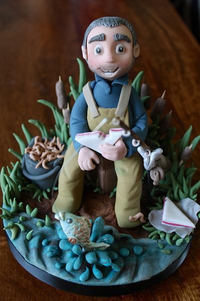 Fisherman - Cake by Zoe's Fancy Cakes