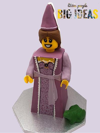 Lego Fairytale Princess  - Cake by Lynda-Jane