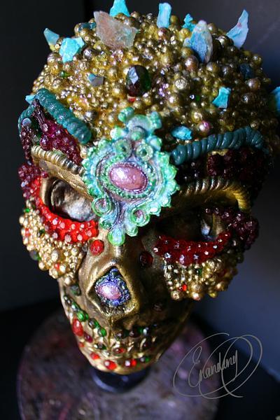 My Happy birthday skull - Cake by Erandeny Cuevas