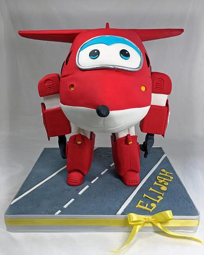"""Super Wings """"JETT"""" - Cake by CuriAUSSIEty  Cakes"""