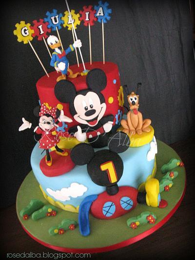 Disney cake - Cake by Rose D' Alba cake designer