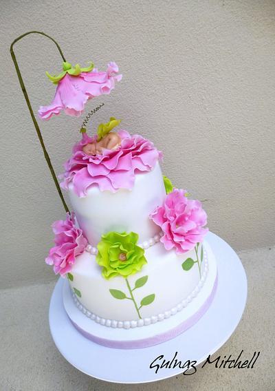"The Baby Shower Cake ""Gemma"" - Cake by Gulnaz Mitchell"