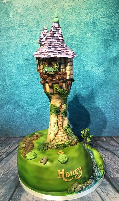 Rapunzel tower - Cake by Maria-Louise Cakes