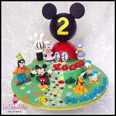 Mickey Mouse Clubhouse - Cake by La Dolce Vita Cakes & Pastries