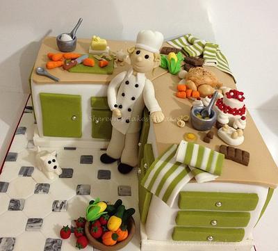Kitchen Cake - Cake by Shereen