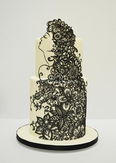 zentangle - Cake by Kelvin Chua